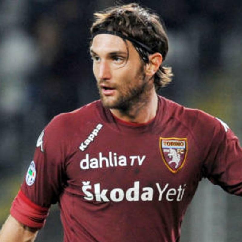 Bianchi's Torino Signed Match Shirt, Serie B 2009/10
