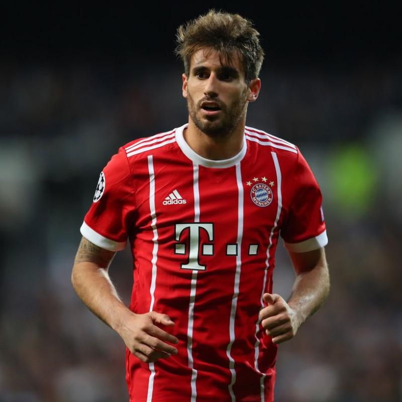 online retailer 409a7 248a2 Javi Martinez's Bayern Munich Match-Issue/Worn DFB Pokal 2017/18 Shirt