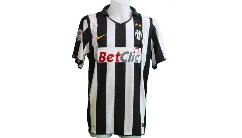 Grosso's Juventus Match-Issue/Worn Shirt, 2010/11