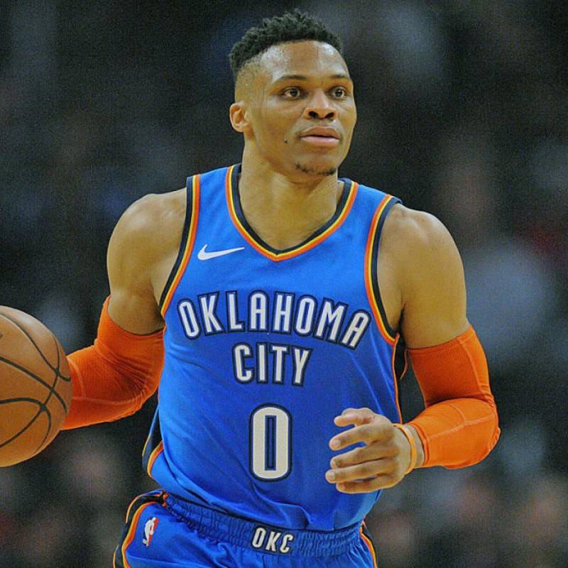 Westbrook's Official OKC Signed Jersey
