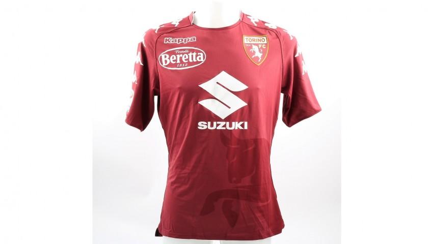 Belotti's Torino Match-Worn/Signed Shirt - Serie A 2017/18