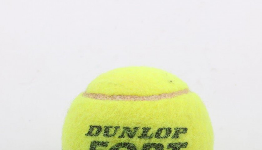 Tennis ball signed by Rafael Nadal