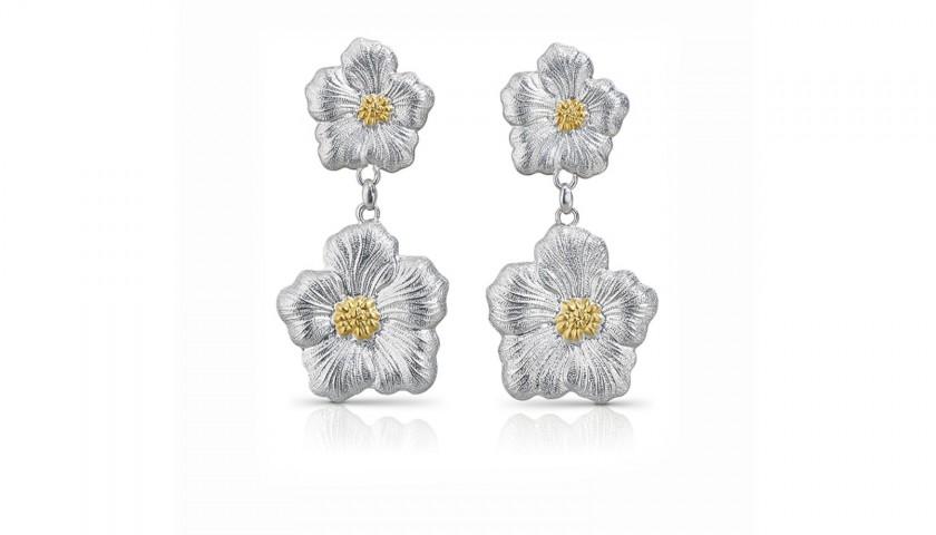 Gardenia Dangle Earrings by Buccellati