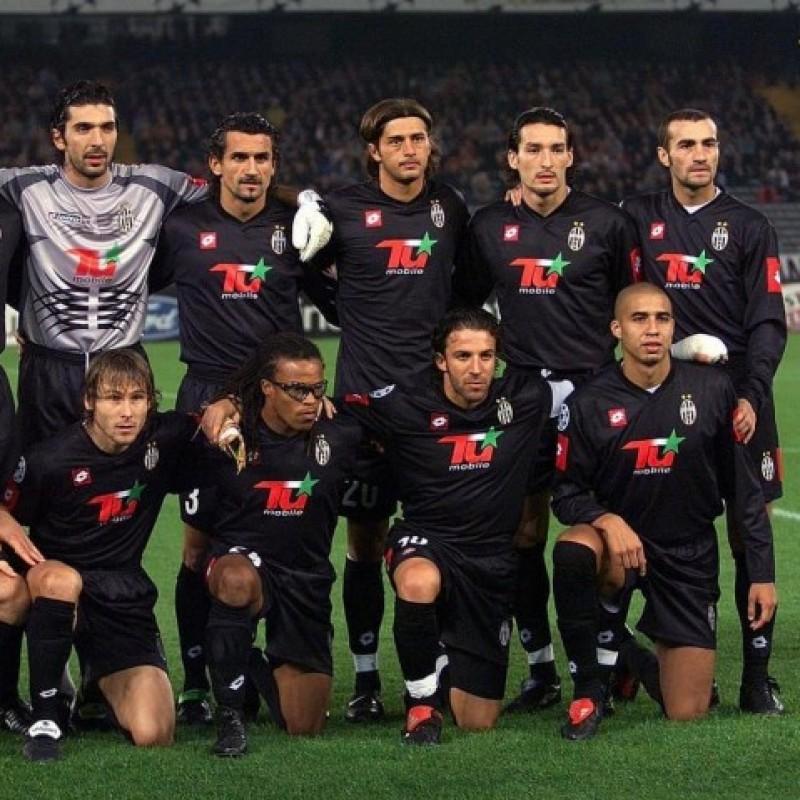Montero's Juventus Match Shirt, TIM Cup 2001/02