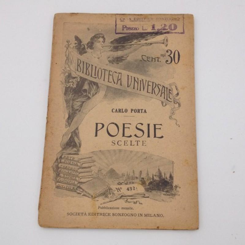 """Poesie scelte"" - Carlo Porta, Early 1900s"