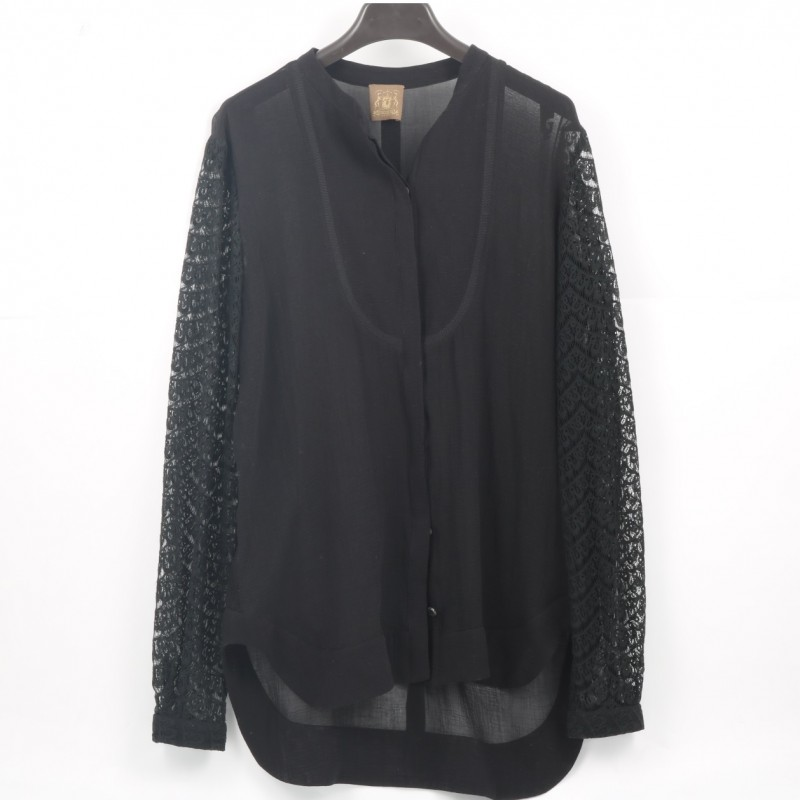 Black Women's Blouse by Trussardi