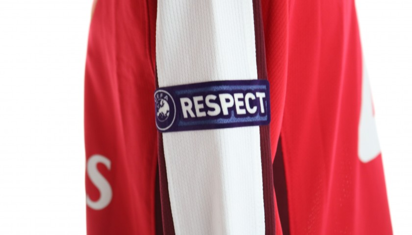 Fabregas' Arsenal Match Shirt, UCL 2009/10