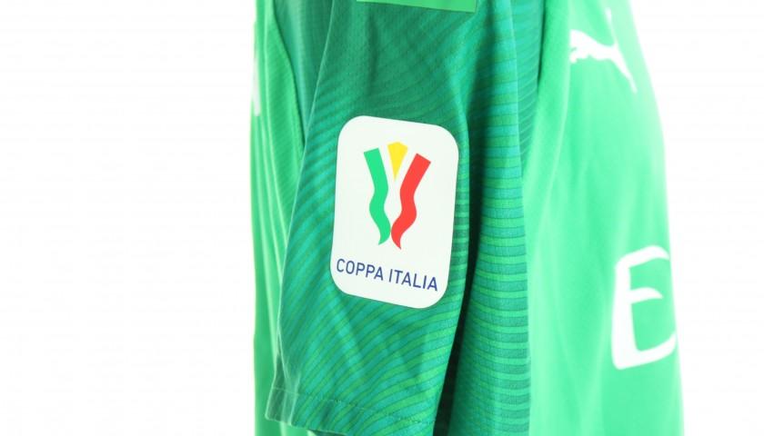 "Donnarumma's Worn Shirt, Juventus-Milan - ""Andrà Tutto Bene"""