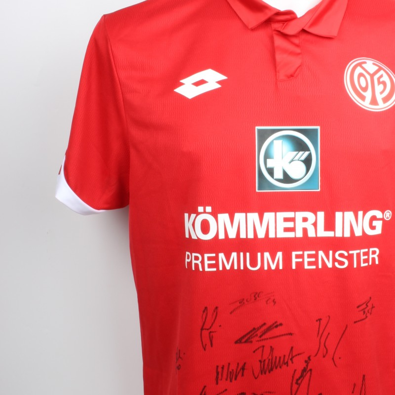 FSV Mainz Shirt Signed by Members of Squad