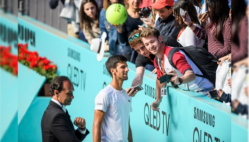 Attend the 2019 Mutua Madrid Open in May