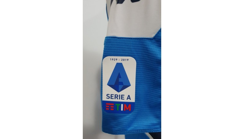 Insigne's Napoli Match-Worn and Signed Shirt, 2019/20