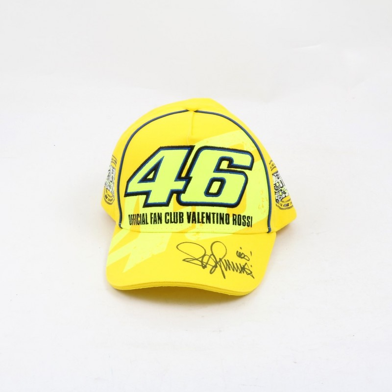 Official Valentino Rossi Fan Club Cap - Signed
