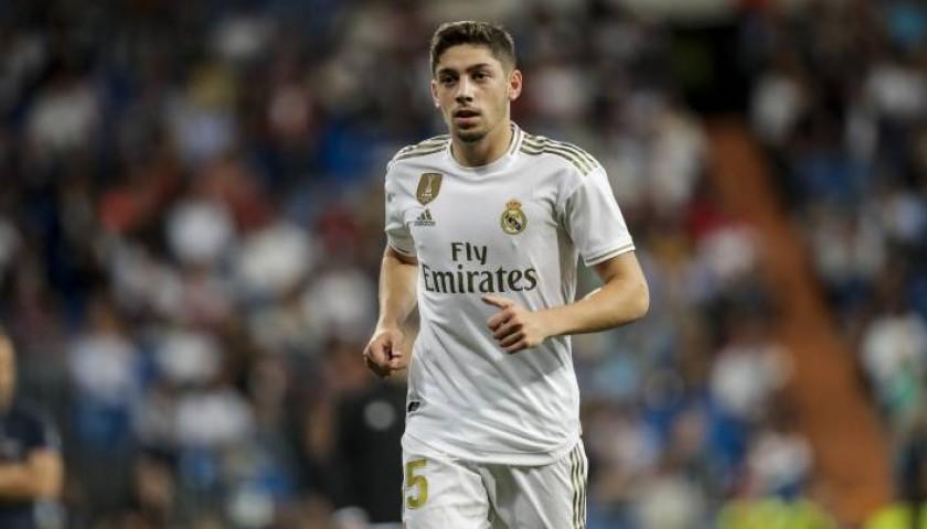 Valverde's Official Real Madrid Signed Shirt 2019/20 - CharityStars