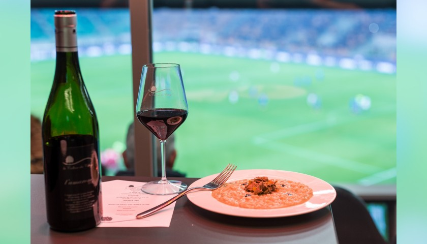 Enjoy the AC Milan-Lazio Match with VIP Hospitality Food & Wine Experience