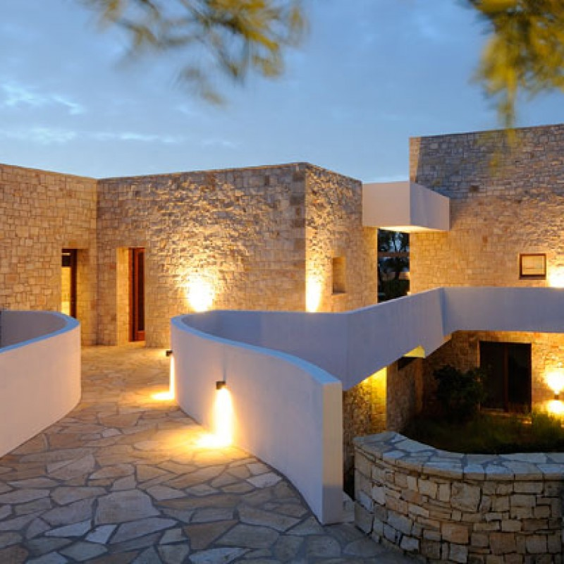 A holiday in a superb 10 bedroom villa in Greece featured on How to Spend it