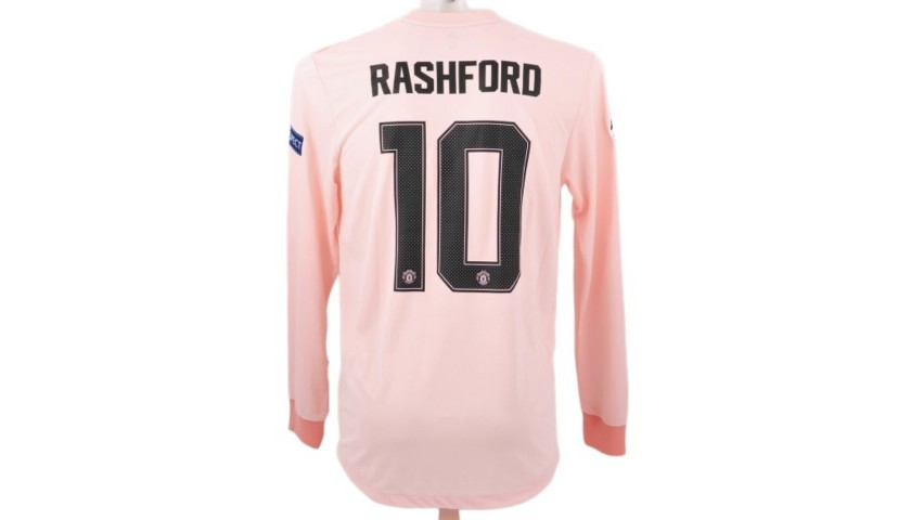 finest selection e1cd1 5bb04 Rashford's Match-Issue Shirt, PSG-Manchester United 2019 - CharityStars