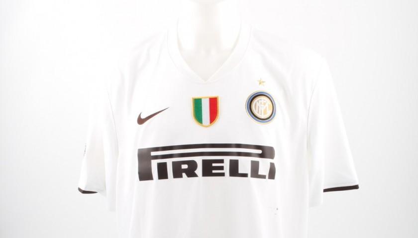 best website 4e893 c59ca Official Ibrahimovic Inter shirt, Serie A 08/09 - signed - CharityStars