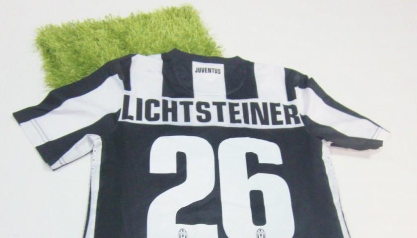 newest 25dfc 4606c Lichtsteiner's Juventus match worn shirt, Serie A 2012/2013 - CharityStars