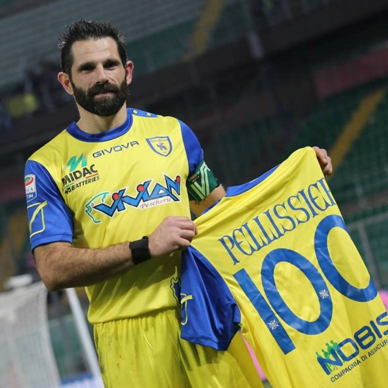 Have Dinner with Sergio Pellissier + Receive his 100th Goal in Serie A Shirt