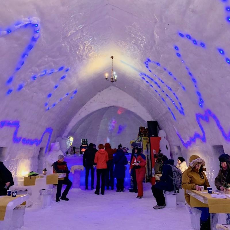 7-Night Ice Hotel Transylvania Ski Experience for 2