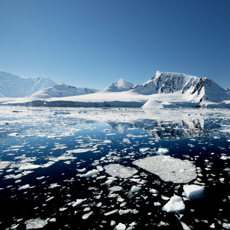 'The Noise of Ice: Antarctica' by Enzo Barracco - Small Format Photograph, Limited Edition 1/6 Photo No. 3