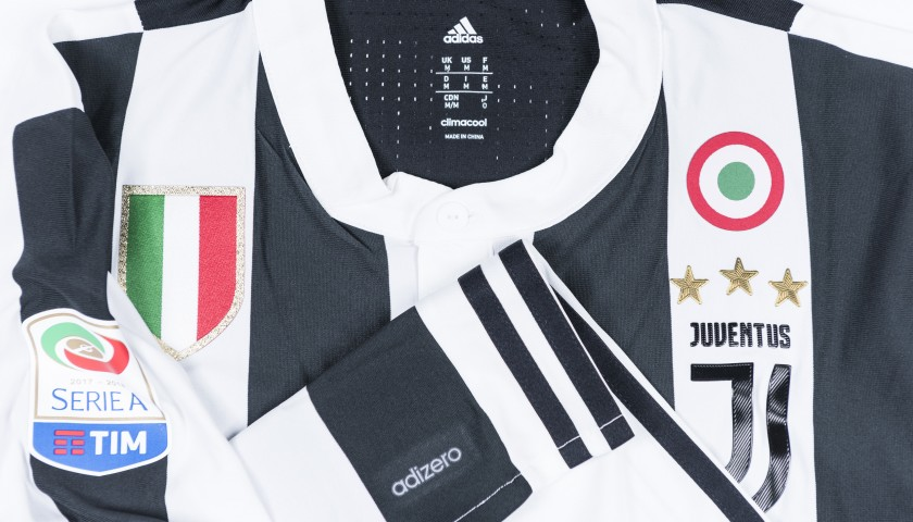 Signed Authentic Dybala Juventus Shirt, 2017/18