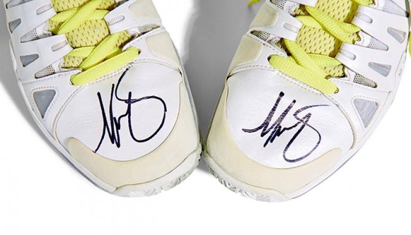 Nike Vapor 9 Tour Autographed Trainers