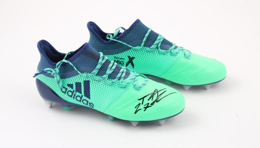 Scarpe Adidas Padelli, preparate e autografate 201819