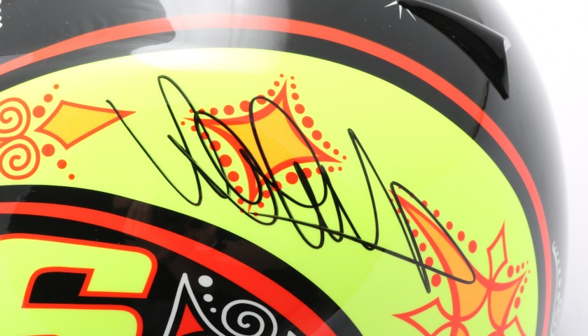 Replica Helmet Signed by Valentino Rossi