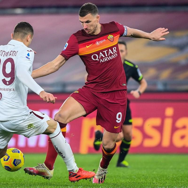 Dzeko's Worn Shirt, Roma-Torino - WFP Special