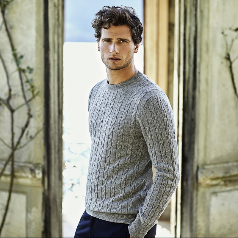 Personalize your Cashmere Sweater and Meet Luca Faloni