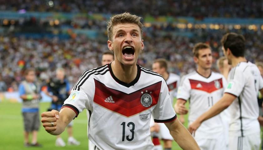 Muller's Germany Match Shirt, World Cup Final 2014