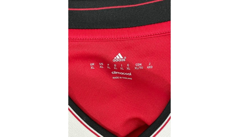 Rooney's Official Manchester United Signed Shirt, 2015/16