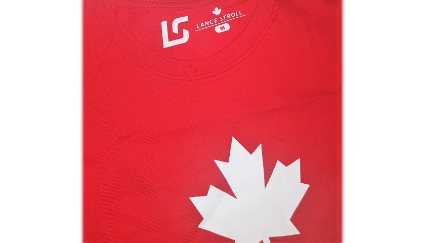 Lance Stroll's Official Canada Signed T-Shirt