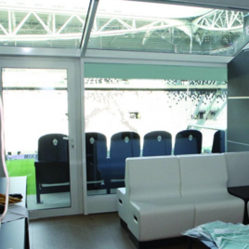 "2 seats at SkyBox to watch ""Partita del Cuore"" at Juventus Stadium"