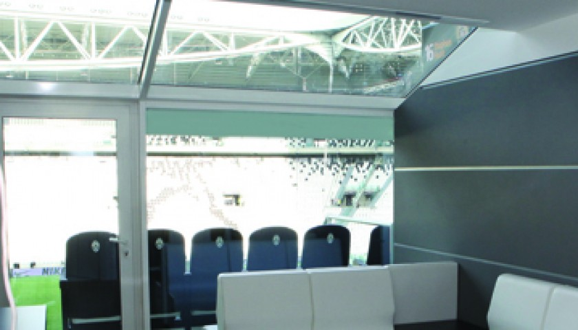 "2 seats at SkyBox to watch ""Partita del Cuore"" at Juventus Stadium"
