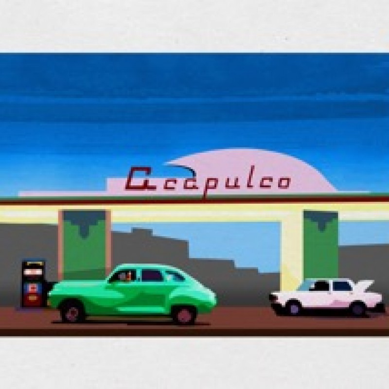 """Acapulco Gas Station"" by Thomas Hussung"