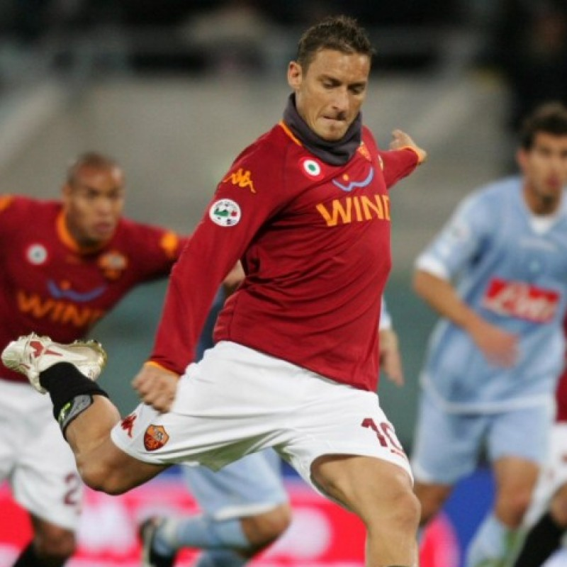 Totti's Roma Match Shirt, 2007/08