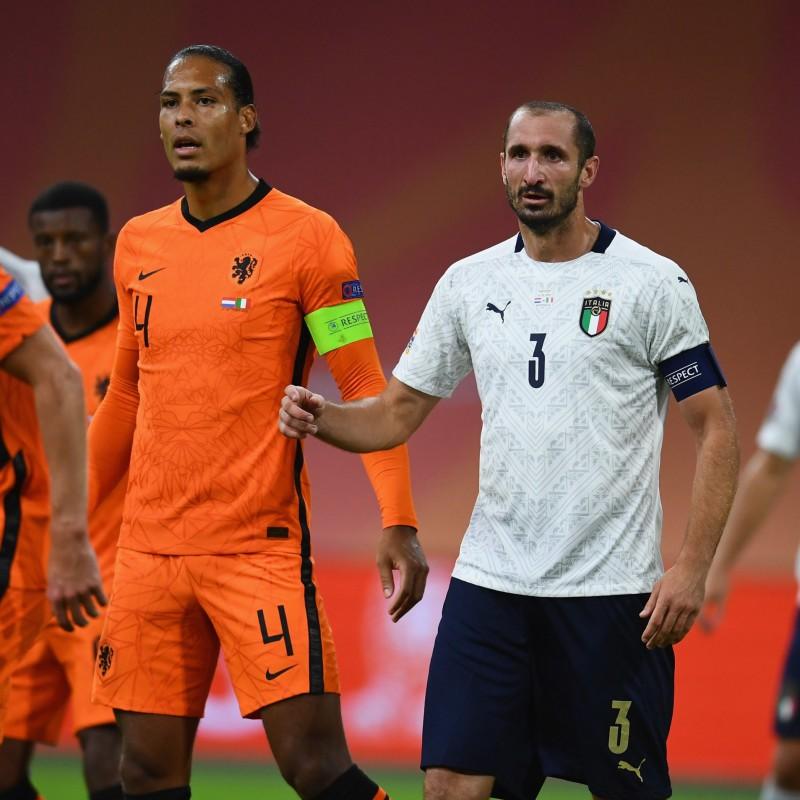 Chiellini's Match Shirt, Holland-Italy 2020