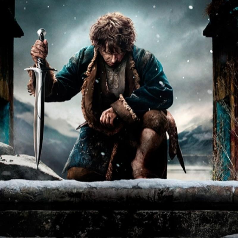 "Martin Freeman ""The Hobbit"" Signed Print"