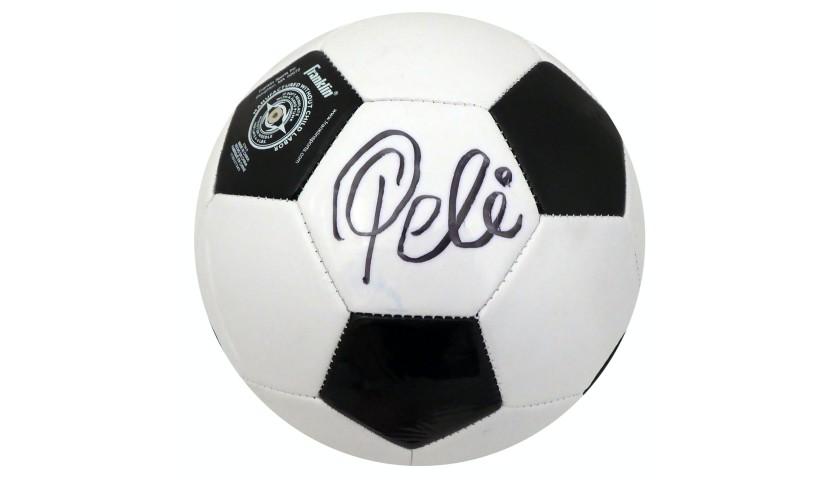 Pelé Hand Signed Soccer Ball