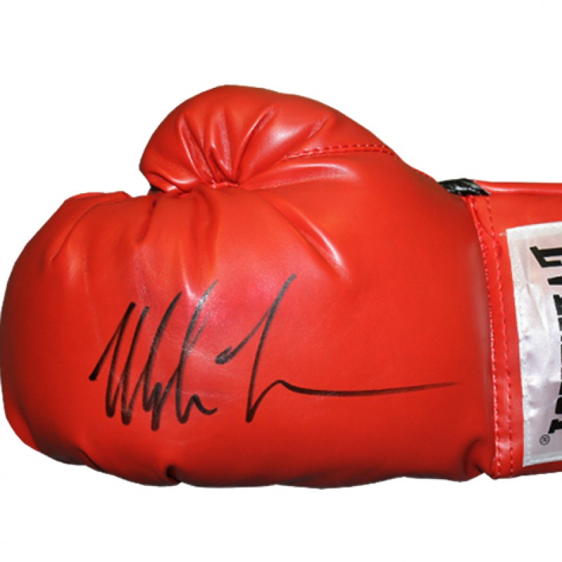 Boxing Glove Signed by Mike Tyson