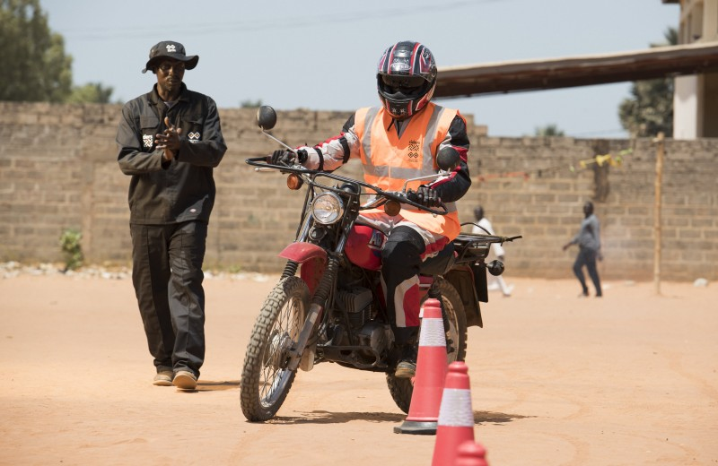 Rider Training For a Health Worker