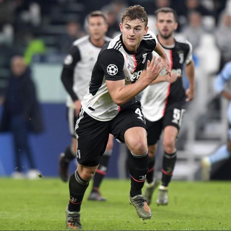 Maglia Ufficiale de Ligt Juventus - Autografata dai giocatori