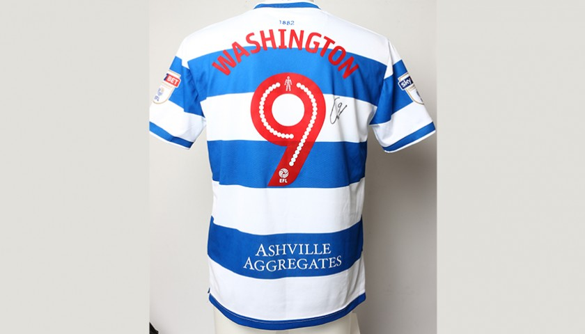 4e2b54a25 Signed Match-worn Poppy shirt from QPR s Conor Washington 1 2 ...