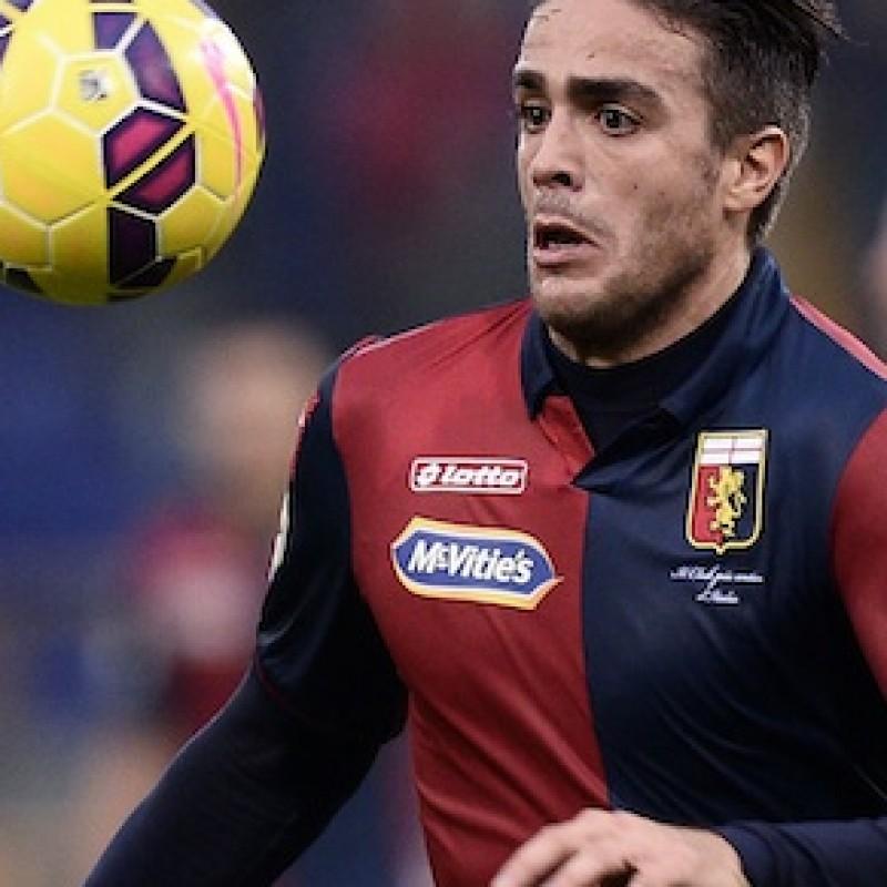 Matri Genoa match issued/worn shirt, Serie A 2014/2015
