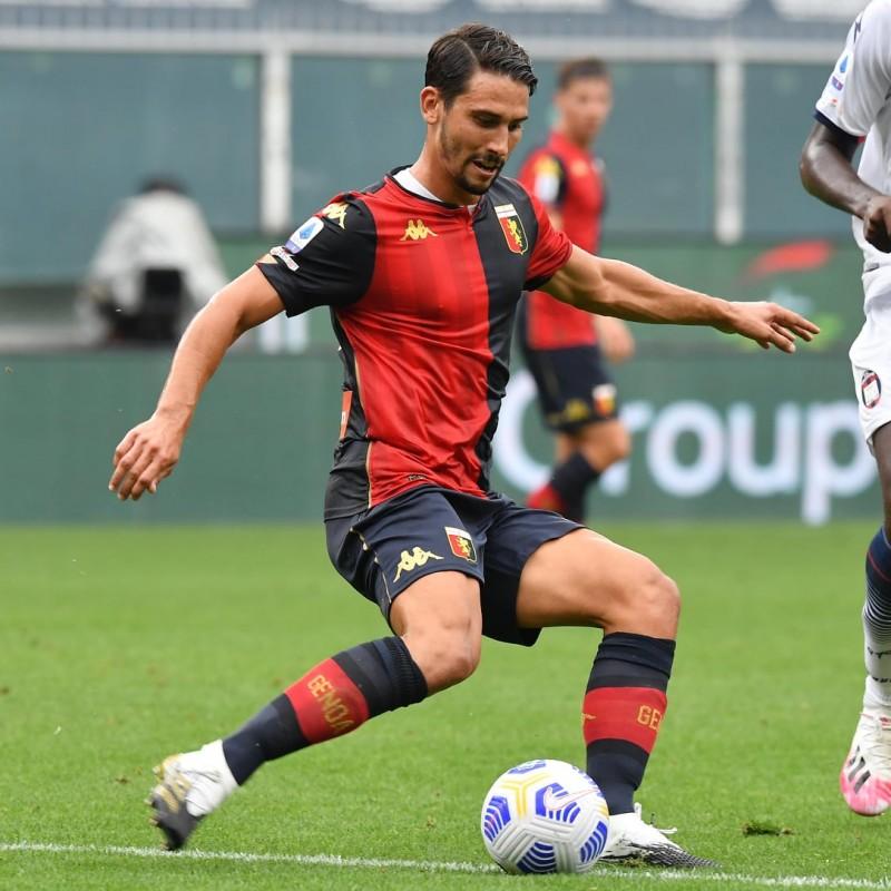 Goldaniga's Genoa Signed Match Shirt, 2020/21