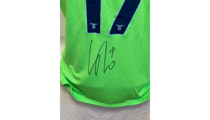 Immobile's Official Lazio Signed Shirt, 2020/21
