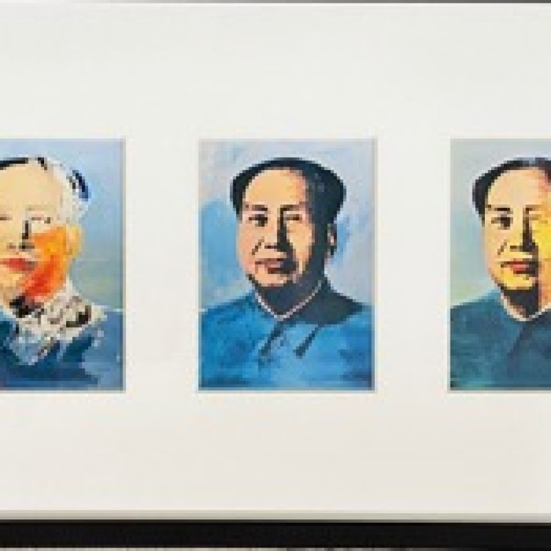 """Mao Tse-Tung"" by Andy Warhol"