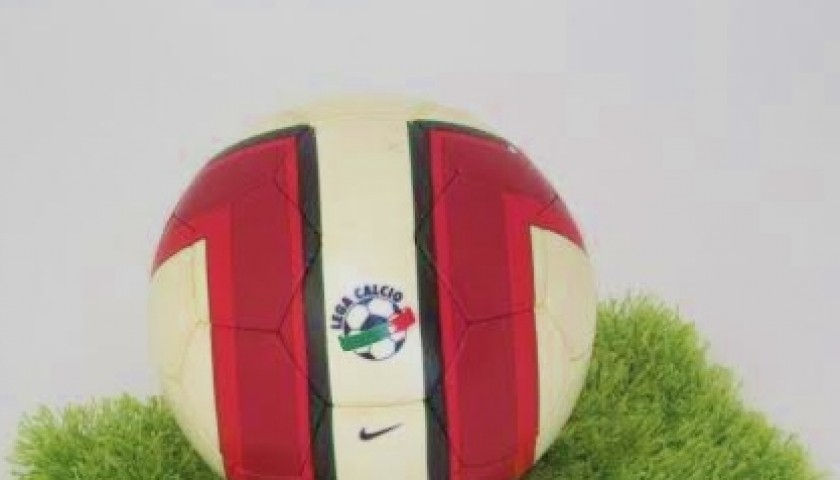 Nike official ball, used in Serie A 2007/2008 - CharityStars